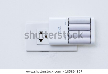 AA battery charger Stock photo © backyardproductions