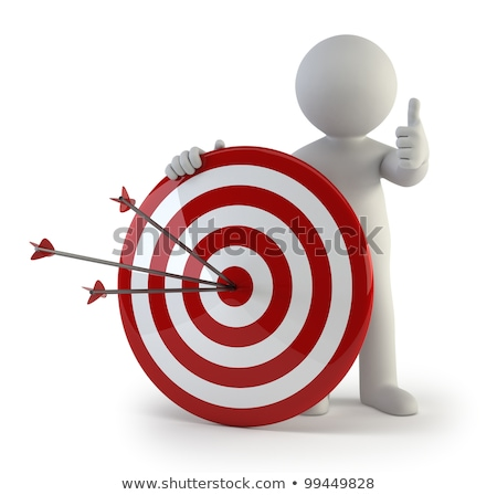 3d small people - target Stock photo © AnatolyM