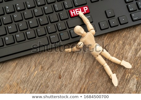 help keyboard button stock photo © milosbekic