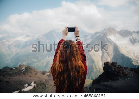 girls taking a picture while on holiday stock photo © photography33