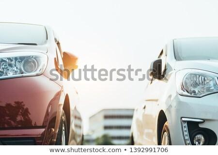 samochody · parking · sportowe · miejskich · życia · sukces - zdjęcia stock © ravensfoot