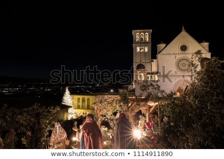 assisi   mary and jesus stock photo © wjarek