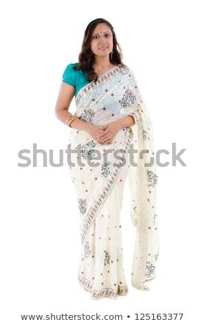 Tradycyjna indyjska odzież całego ciała Zdjęcia stock © szefei