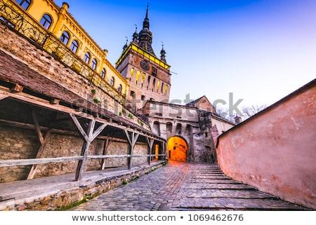 Romênia tradicional arquitetura Foto stock © travelphotography