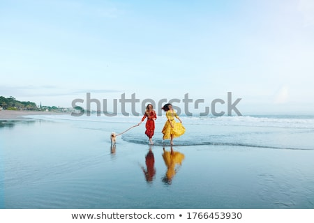 Perfect female on sea coast Stock photo © Anna_Om