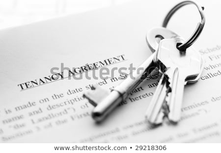 Tenancy agreement stock photo © kenishirotie