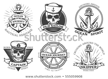 anchor navy tattoo  Stock photo © creative_stock