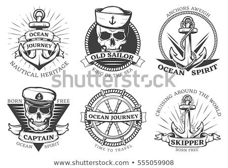 anchor navy tattoo stock photo © creative_stock