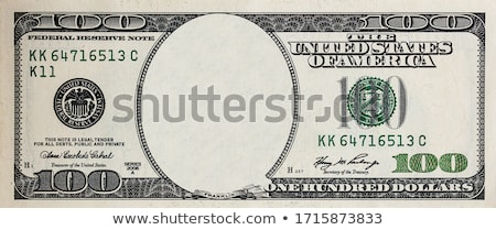 one hundred dollar bills isolated stock photo © leeavison