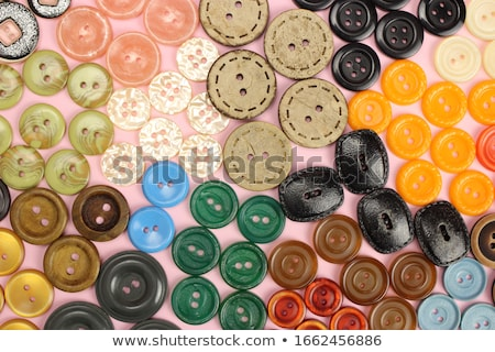 botón · de · punto · artículo · ropa · rojo - foto stock © vlad_star