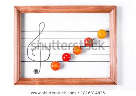 Zöldség szimfónia színes élénk absztrakció négy Stock fotó © Fisher