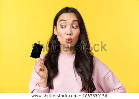 Teenager Thrilled With Money Stock photo © ozgur