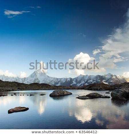 Piccolo alpino lago Svizzera turchese Foto d'archivio © rglinsky77