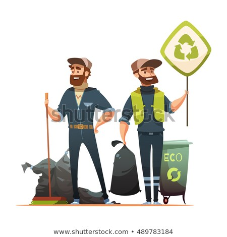 recycling of the household refuse stock photo © Gilles_Paire
