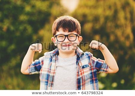 健康 子供 かわいい 少年 食べ ストックフォト © Talanis