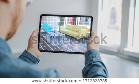 Man choosing where to live Stock photo © curvabezier