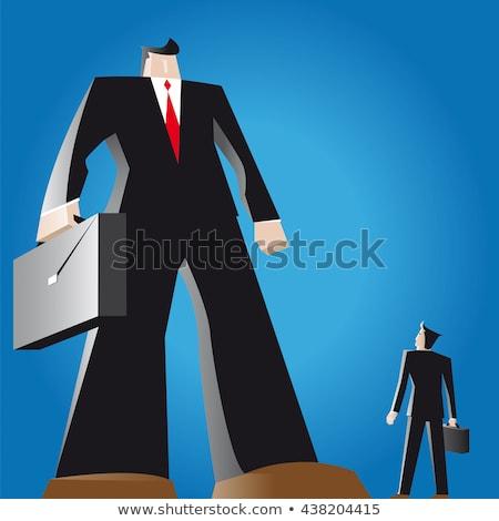 бизнеса · заседание · люди · работу · вектора - Сток-фото © curvabezier