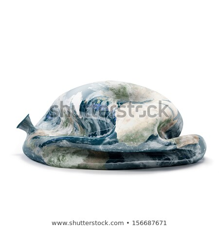 deflated planet earth balloon Stock photo © italianestro
