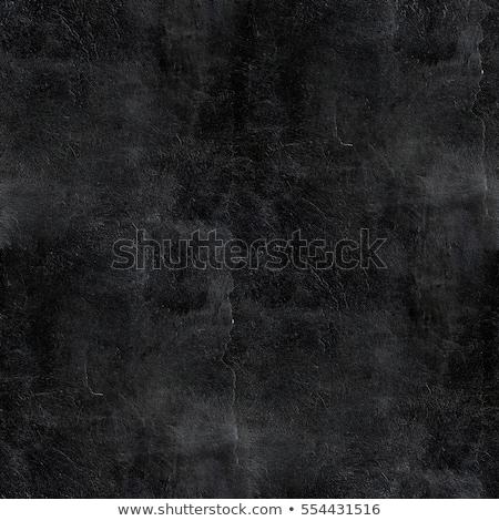 Sin costura textura negro estuco pared eps10 Foto stock © LoopAll