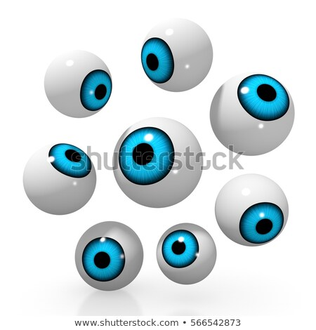 3D oogappel mooie groene oog Stockfoto © ArenaCreative