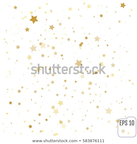 Stock photo: Confetti stars background