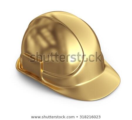 golden helmet Stock photo © tiero