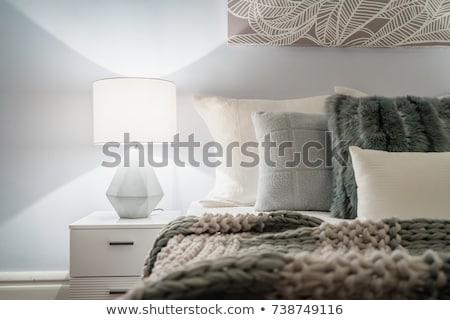 Bedroom Lamp Stock photo © smuay