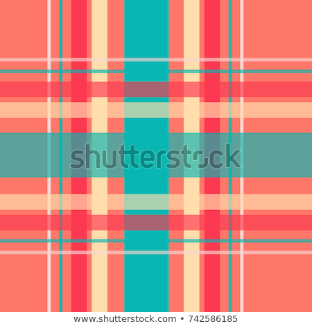 Square pattern in red and orange colors. EPS 10 Stock photo © beholdereye