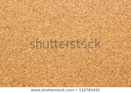 Parafa tábla barna textúra dugó közelkép iroda Stock fotó © scenery1