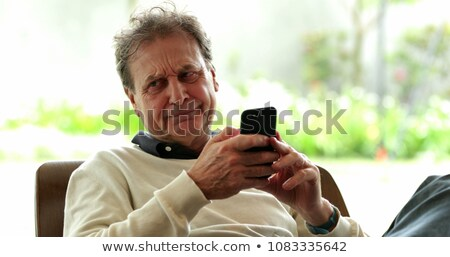 annoyed older man stock photo © ichiosea