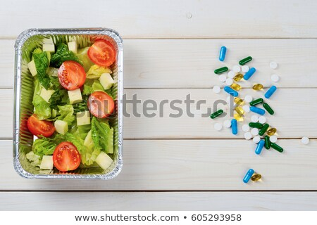 Vegetables versus Supplement	 Stock photo © Spectral