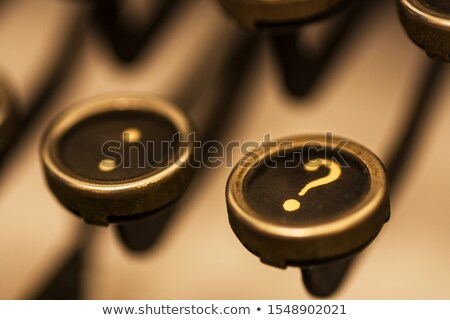 старые · машинку · часто · задаваемые · вопросы · хром · ключами · черный - Сток-фото © 3mc