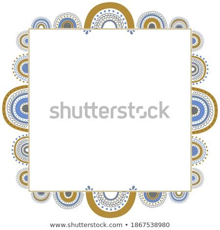 regenboog · pleinen · abstract · kleurrijk · Blauw · golf - stockfoto © marinini
