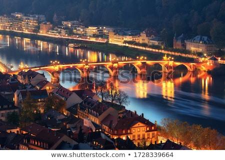 старые · моста · реке · старый · город · средневековых · каменные - Сток-фото © meinzahn