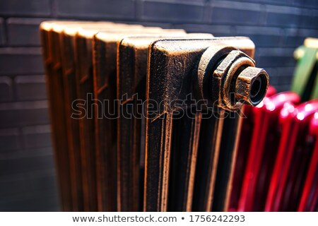 Cast-iron radiator for heating systems Stock photo © LoopAll