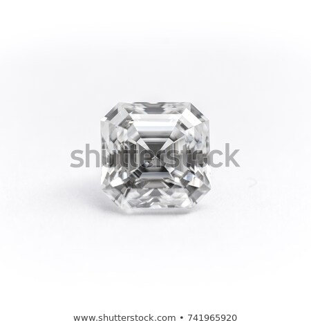 Polido diamante isolado branco dinheiro vidro Foto stock © tuulijumala