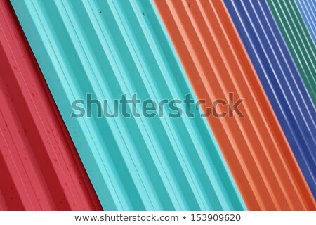 Zinc coated galvanized steel metal sheet plate texture Stock photo © stevanovicigor