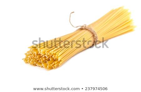 sheaf raw spaghetti Stock photo © OleksandrO