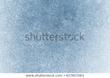冷ややかな 表面 フルフレーム クローズアップ ショット ストックフォト © prill