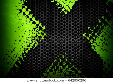 Abstract Background of Lime Green Metal Stock photo © stevanovicigor