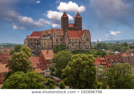 Quedlinburg old town  Stock photo © LianeM