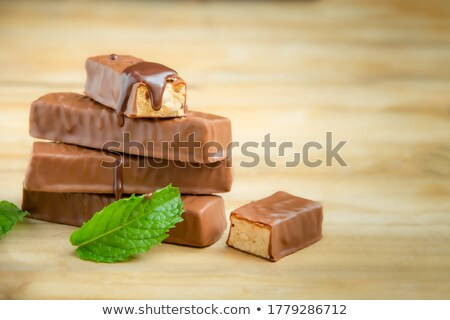 chocolate mint and peanuts stock photo © madrolly