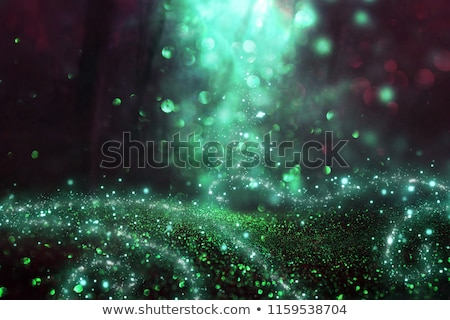 Stock photo: magic light in the woods