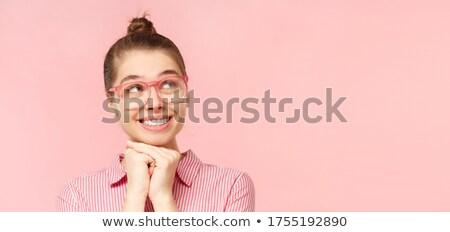 Pretty day dreaming hipster  Stock photo © wavebreak_media