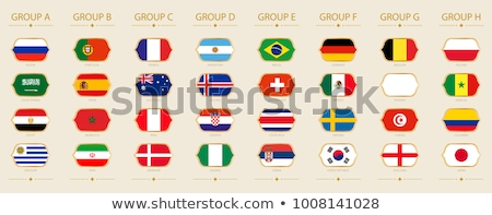 Brazília Uruguay zászlók puzzle izolált fehér Stock fotó © Istanbul2009