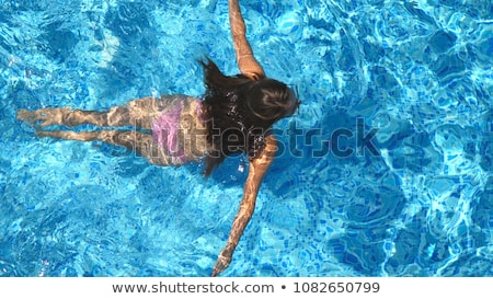 Medence nők alámerülés nő víz sport Stock fotó © Paha_L