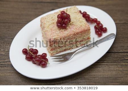 свежие диета торт ягодные Сток-фото © mcherevan