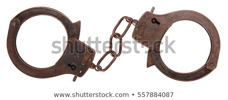 Handcuffs isolated Stock photo © ia_64