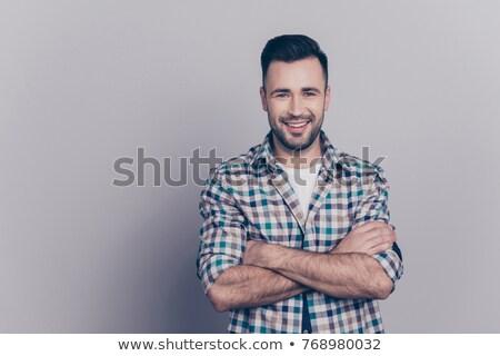 homme · adulte · Homme · regarder - photo stock © deandrobot