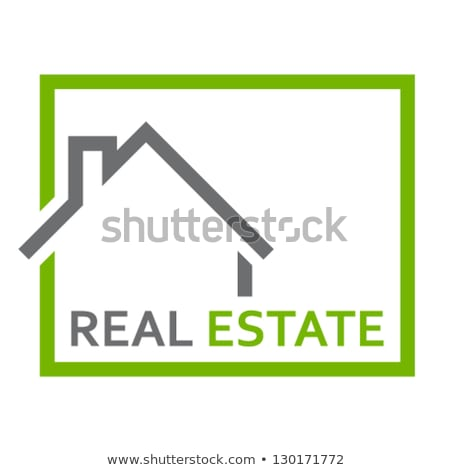 Stock photo: housetop / real estate symbol